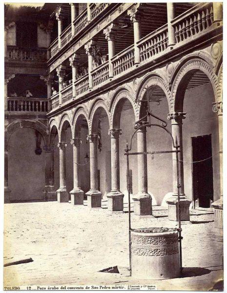 03-LAURENT - 0012 - Pozo árabe del convento de San Pedro mártir_1