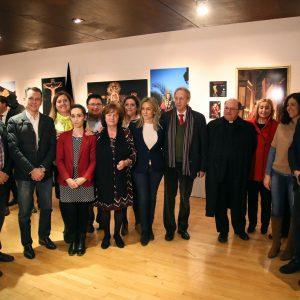 La Semana Santa de Toledo se da a conocer a través de una exposición en San Marcos que hoy ha inaugurado la alcaldesa