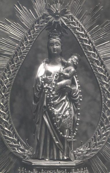 03_Toledo-Virgen y Niño Jesús del Convento de San Clemente