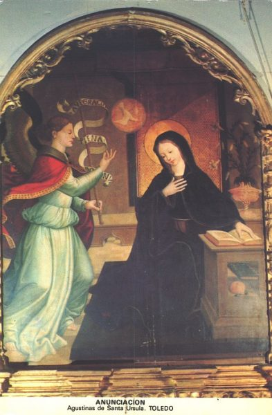 04_Toledo-Anunciación del Convento de Santa Úrsula