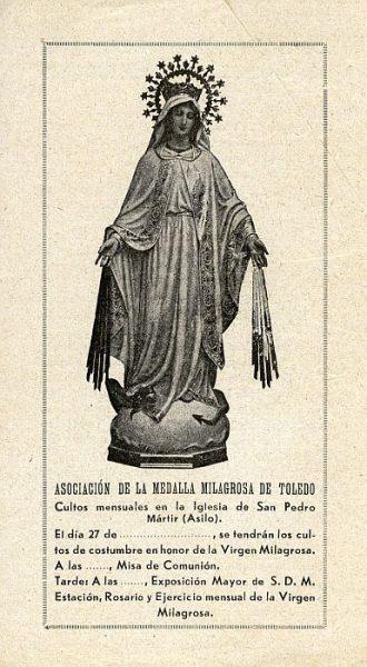 04_Toledo-Virgen Milagrosa del Convento de San Pedro Mártir