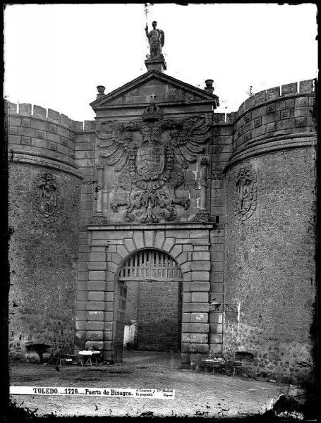05-LAURENT - 1776 - Puerta de Bisagra