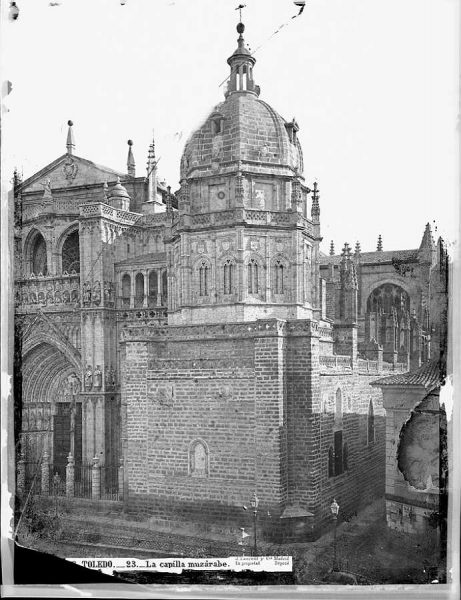 06-LAURENT - 0023 - Catedral de Toledo_La capilla muzárabe