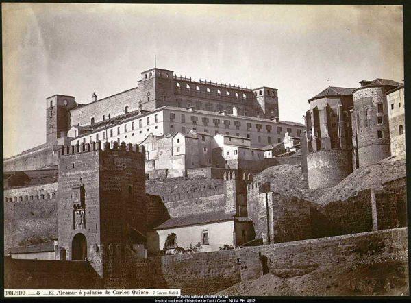 07-LAURENT - 0005 - El Alcázar o palacio de Carlos Quinto