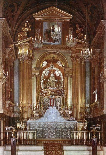 07_Illescas-Altar Mayor de la Iglesia de la Caridad