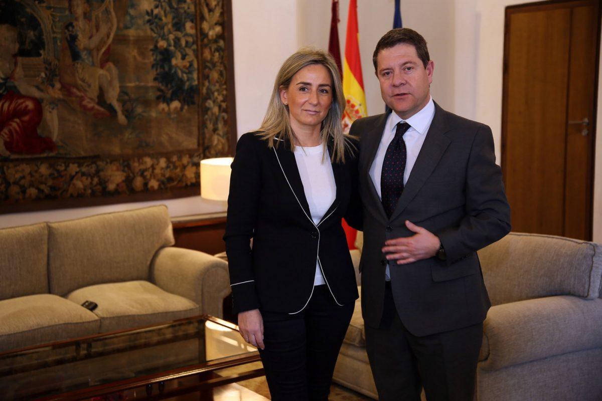 La alcaldesa, Milagros Tolón, y el presidente de la Junta, Emiliano García-Page repasan los proyectos e infraestructuras pendientes en Toledo