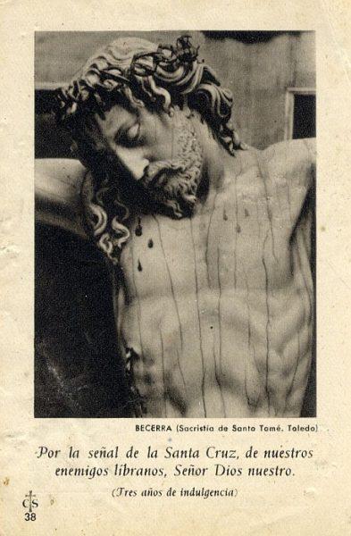 08_Toledo-Cristo de la Sacristía de la Iglesia de Santo Tomé