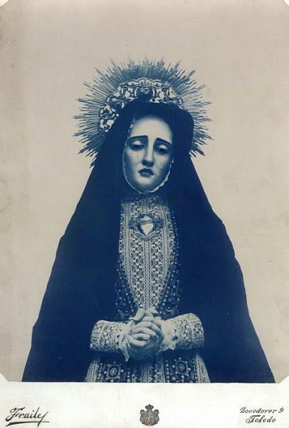 08_Toledo-Virgen de la Soledad de la Iglesia de Santa Justa