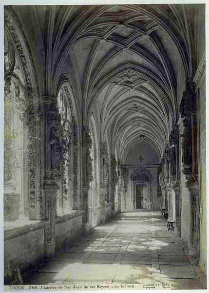 09-LAURENT - 0566 - Claustro de San Juan de los Reyes_2