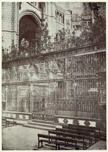 09-TRA-1926-229 - Catedral, rejas de la Capilla Mayor