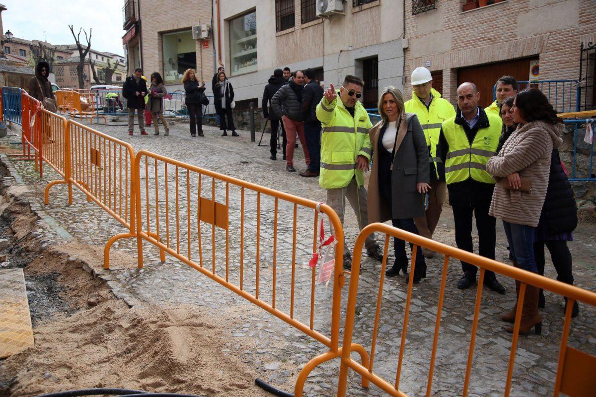 Milagros Tolón anuncia una inversión de 3 millones de euros para la mejora de la red de saneamiento y abastecimiento de agua en 2017