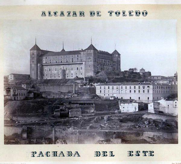 10-LAURENT - 0028 - Fachadas del norte y levante del Alcázar_2
