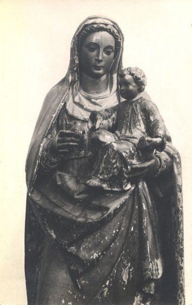 10_Toledo-Virgen y Niño Jesús del Museo de Santa Cruz