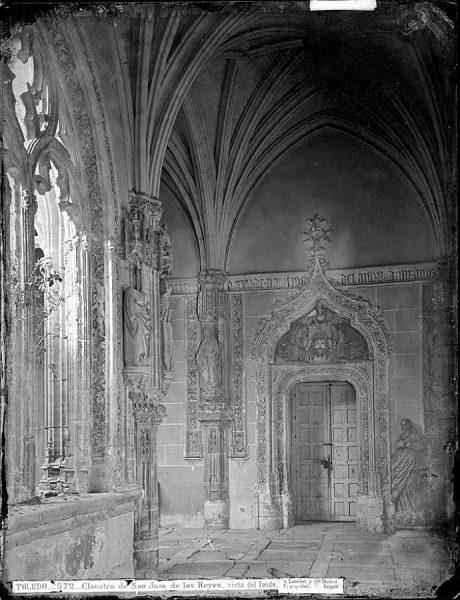 11-LAURENT - 0572 - Claustro de San Juan de los Reyes, vista del fondo