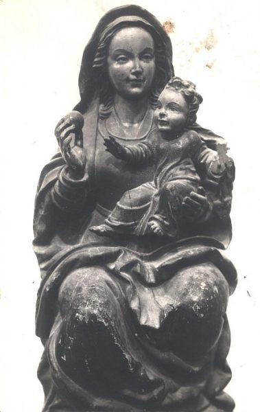 11_Toledo-Virgen y Niño Jesús del Museo de Santa Cruz