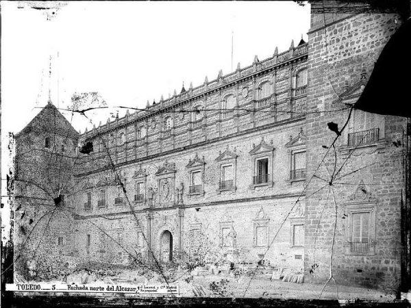 12-LAURENT - 0005 - Fachada norte del Alcázar