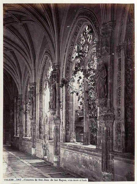 12-LAURENT - 0567 - Claustro de San Juan de los Reyes, visto desde el fondo
