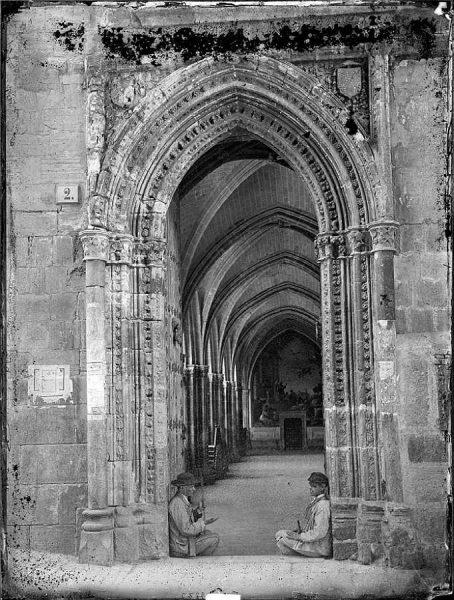 12-LAURENT - 2245 - Catedral de Toledo_Puerta de entrada al claustro_2