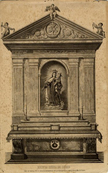 13_Toledo-Nuestra Señora del Carmen de la Iglesia de Santa María Magdalena
