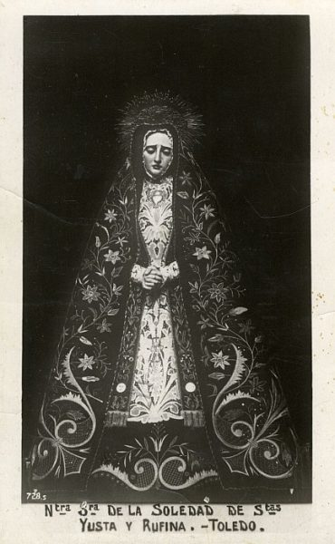 13_Toledo-Virgen de la Soledad de la Iglesia de Santa Justa