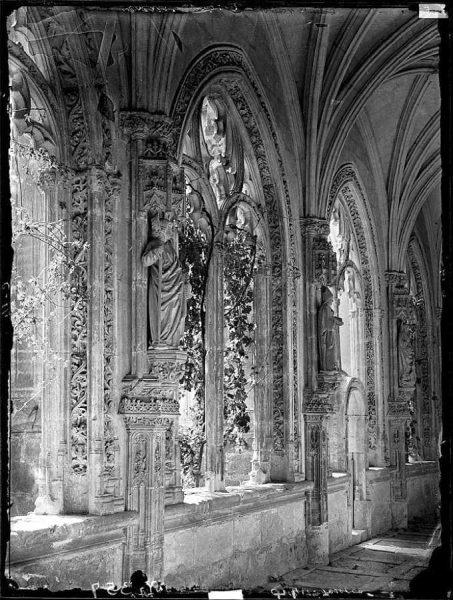 14-LAURENT - 0014 - Claustro de San Juan de los Reyes, costado izquierdo_1