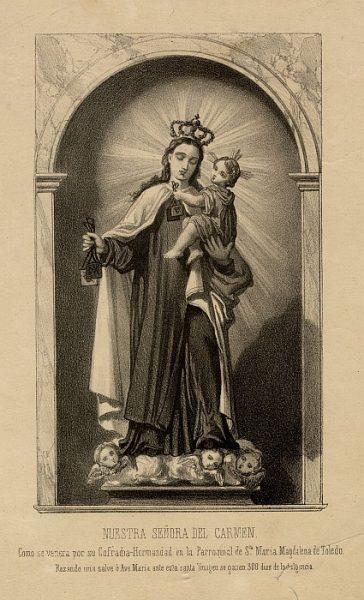 14_Toledo-Nuestra Señora del Carmen de la Iglesia de Santa María Magdalena