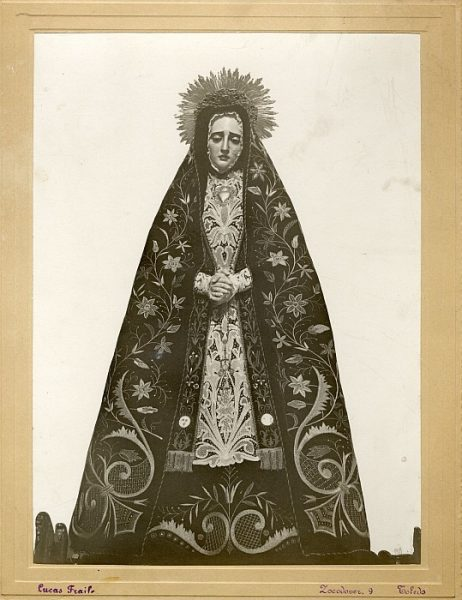 14_Toledo-Virgen de la Soledad de la Iglesia de Santa Justa