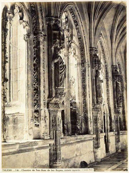 15-LAURENT - 0014 - Claustro de San Juan de los Reyes, costado izquierdo_2