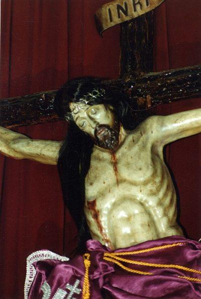 15_Toledo-Cristo del Calvario de la Iglesia del Salvador