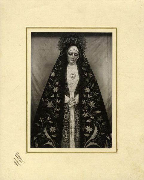 16_Toledo-Virgen de la Soledad de la Iglesia de Santa Justa