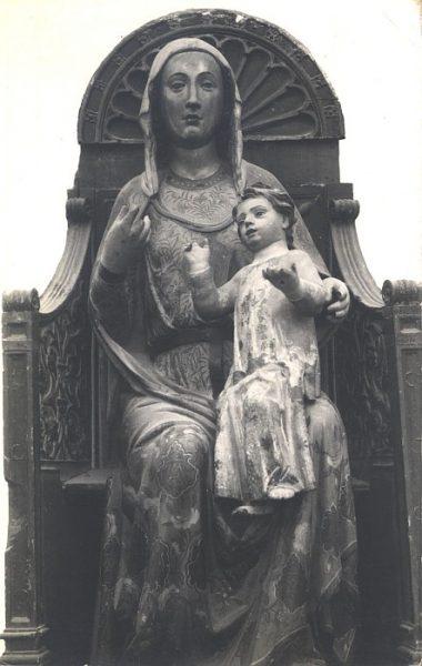 17_Toledo-Virgen Sedente con Niño Museo de la Iglesia de Santiago