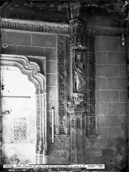 24-LAURENT - 0582 - Claustro de San Juan de los Reyes, detalle