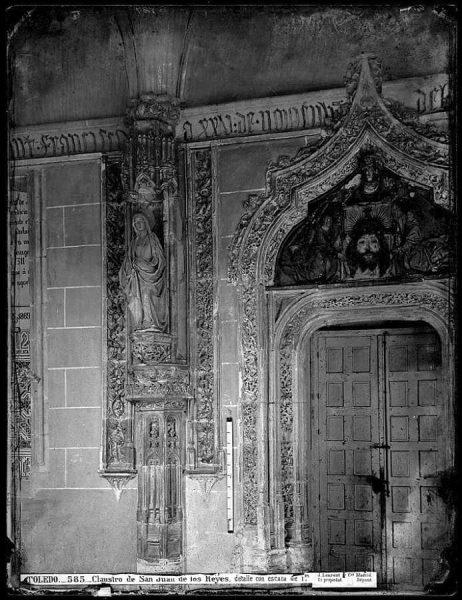26-LAURENT - 0585 - Claustro de San Juan de los Reyes, detalle