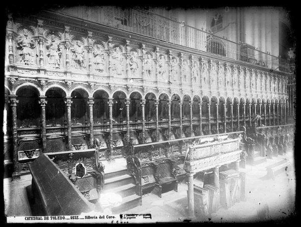 26-LAURENT - 2257 - Catedral de Toledo_Sillería del Coro_1