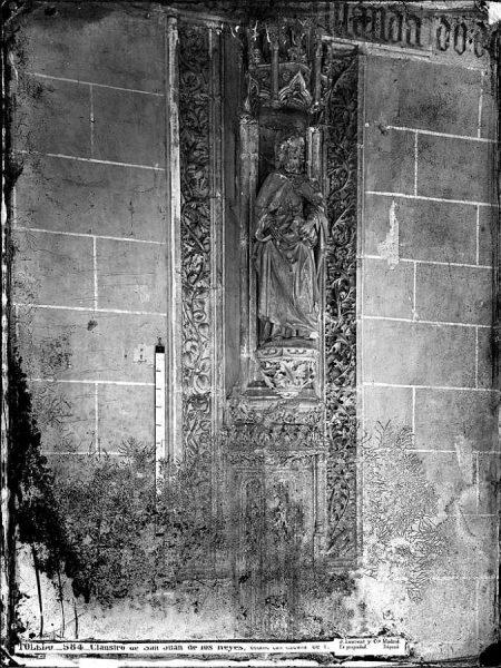 27-LAURENT - 0584 - Claustro de San Juan de los Reyes, detalle