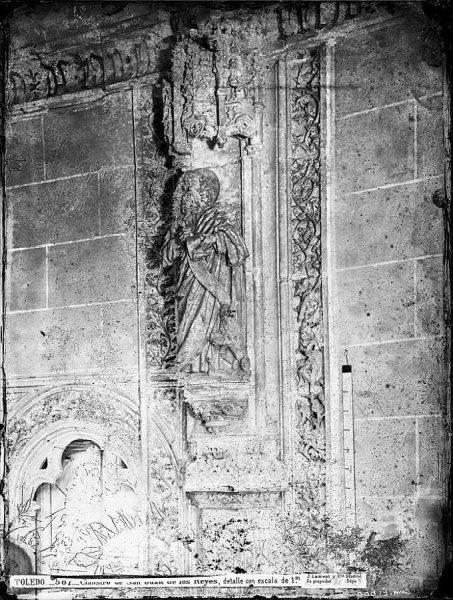 30-LAURENT - 0587 - Claustro de San Juan de los Reyes, detalle