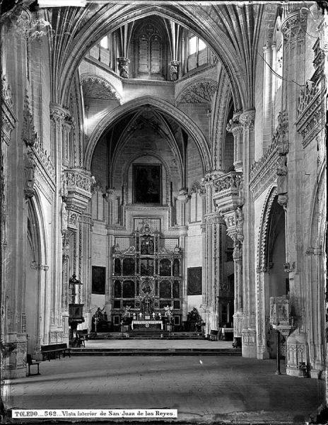 31-LAURENT - 0562 - Vista interior de San Juan de los Reyes_1