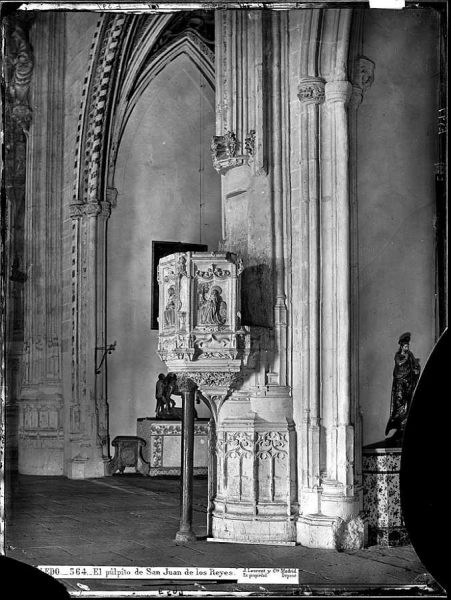 33-LAURENT - 0564 - El púlpito de San Juan de los Reyes_1