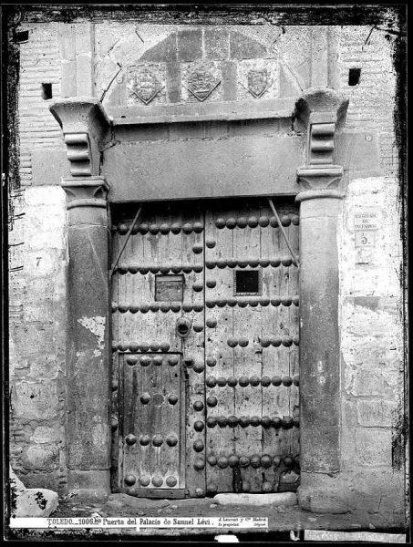 33-LAURENT - 1006 Bis - Puerta del Palacio de Samuel Lévi_1