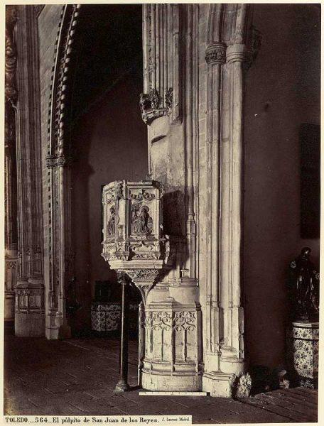 34-LAURENT - 0564 - El púlpito de San Juan de los Reyes_2