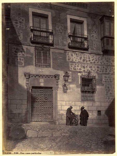 34-LAURENT - 0596 - Una casa particular [Calle de Santa Isabel, 22]