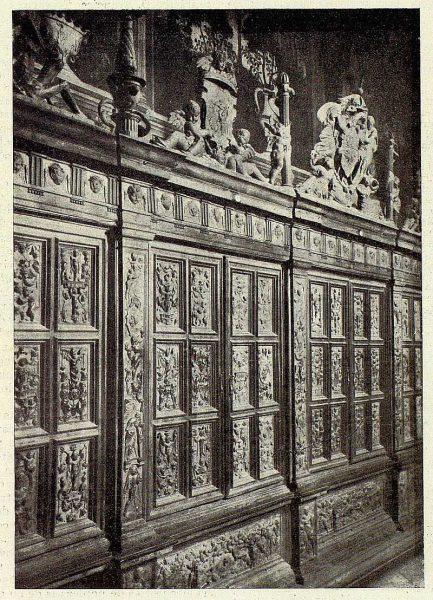 43-TRA-1928-253 - Catedral, Antesala capitular