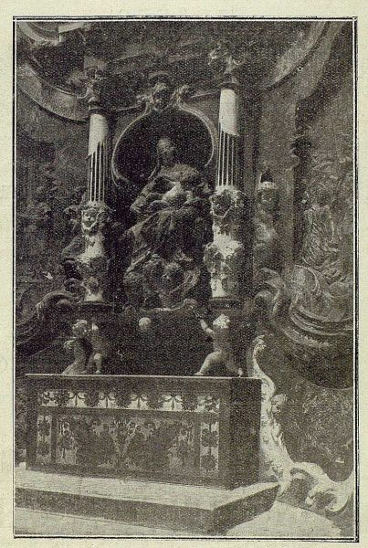 55-TRA-1920-158 - Catedral, Detalle del Transparente