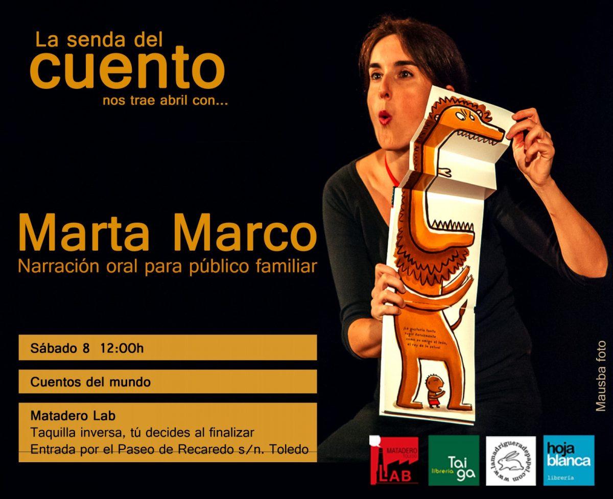 Senda del Cuento: Marta Marco- Cuentacuentos para la familia