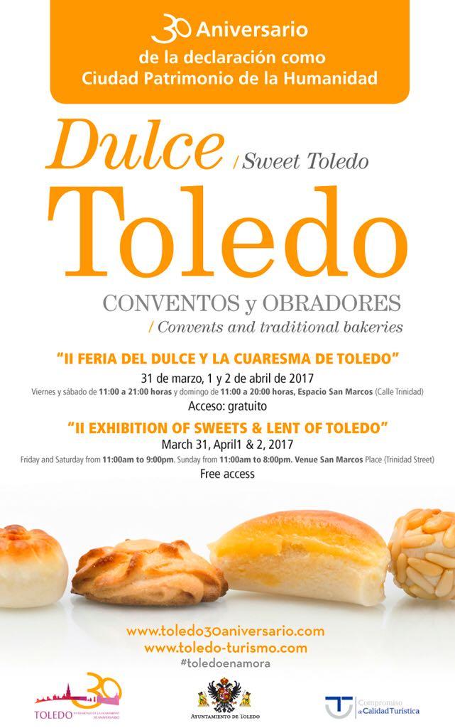http://www.toledo.es/wp-content/uploads/2017/03/cartel-feria.jpg. II Feria del dulce y la Cuaresma de Toledo