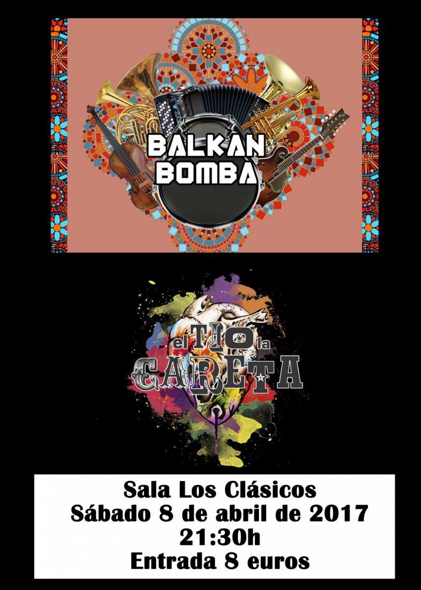 Balkan Bomba + El Tío La Careta
