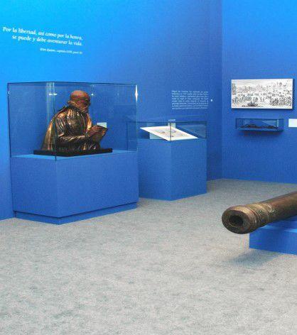 """EXPOSICIÓN TEMPORAL: """"Cervantes, Poeta y Soldado de la Infantería Española"""""""
