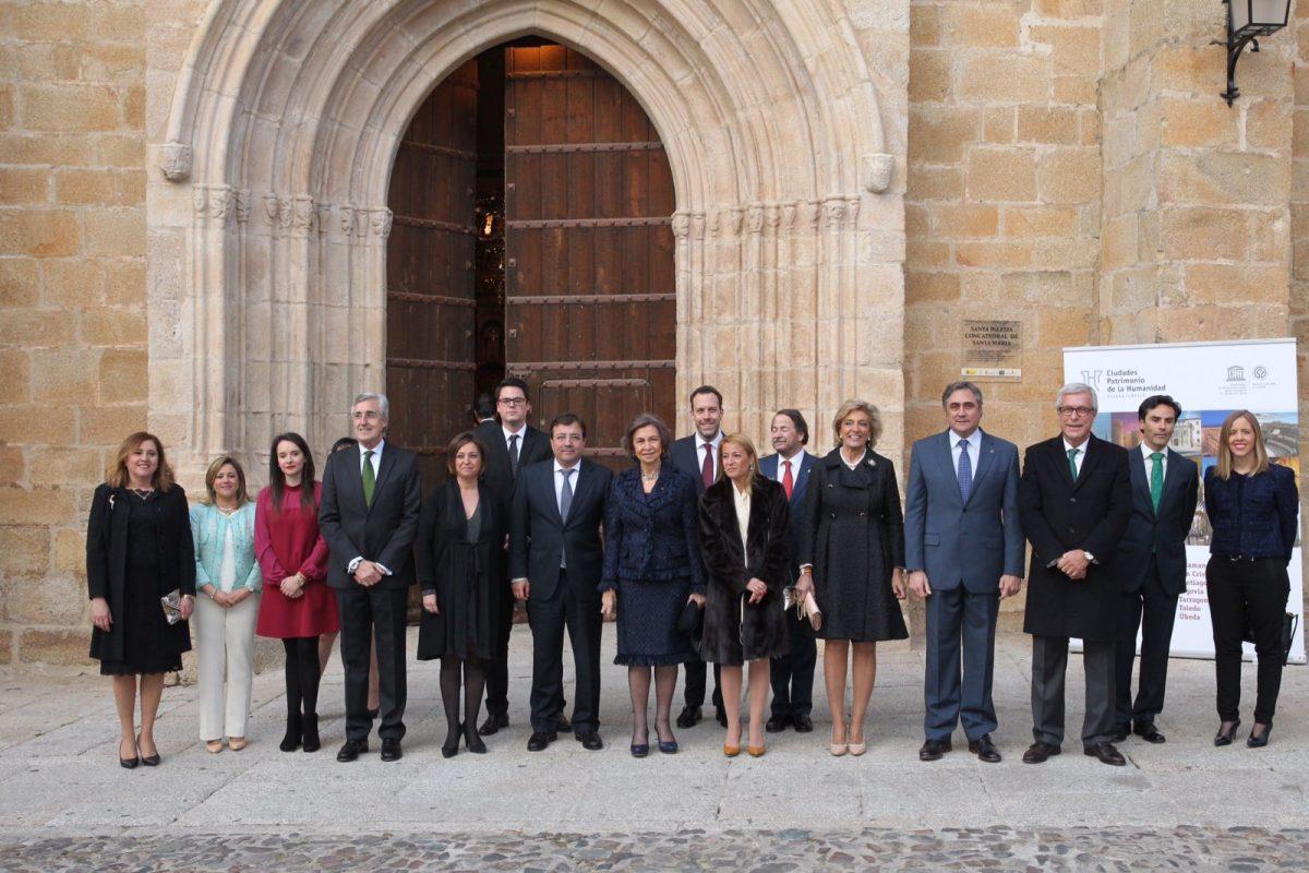 Inauguración del IV Ciclo de Música de Cámara del Grupo de Ciudades Patrimonio de la Humanidad de España