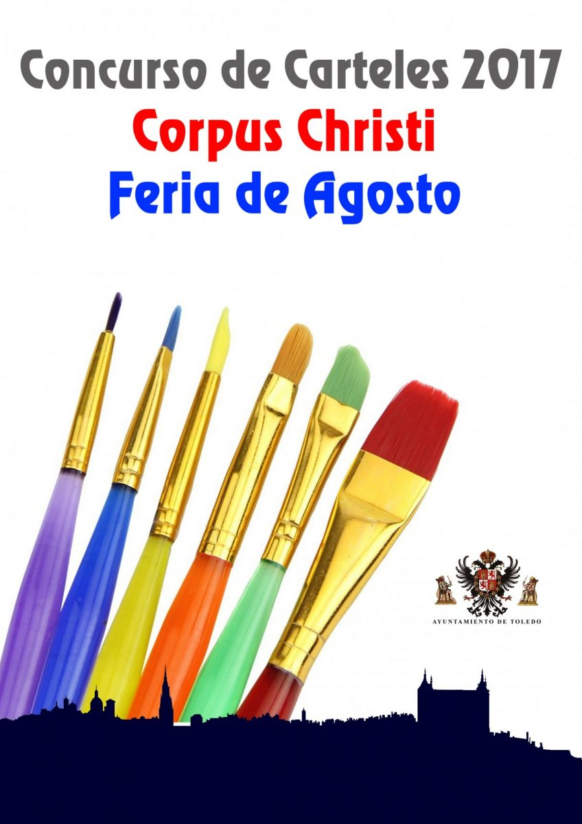 Convocatoria Concurso de Carteles, Corpus Christi y Feria de Agosto