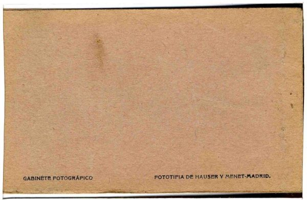 Contracubierta Colección de Postales Curso 1923-1924,II